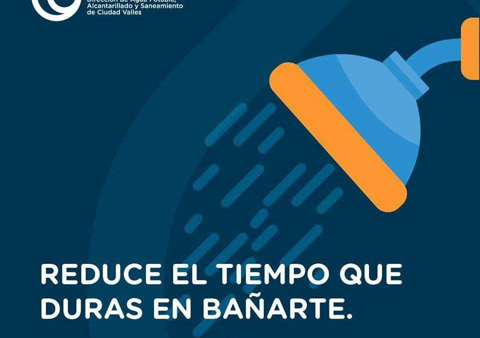 Bañarse rápido para cuidar el Agua